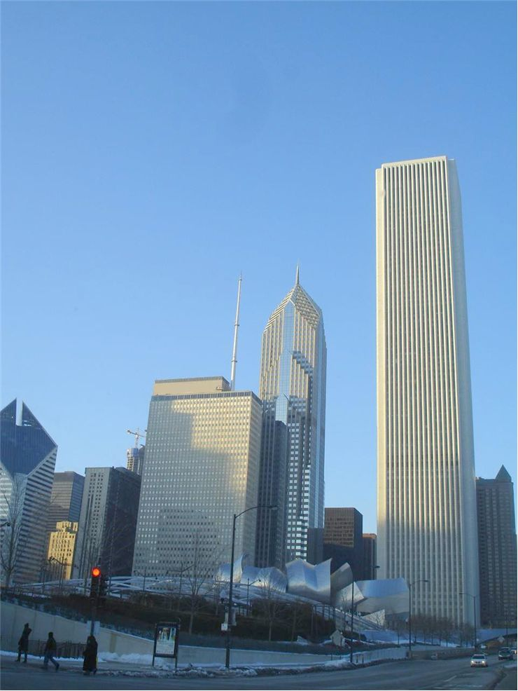 Picture Of Buildings In Chicago Illinois