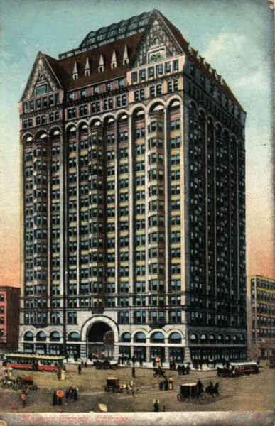Picture Of Chicago Masonic Temple Skyscraper