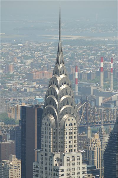 Picture Of Chrysler Building Top