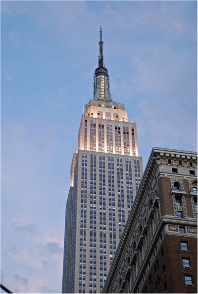 Picture Of Empire State Building In New York