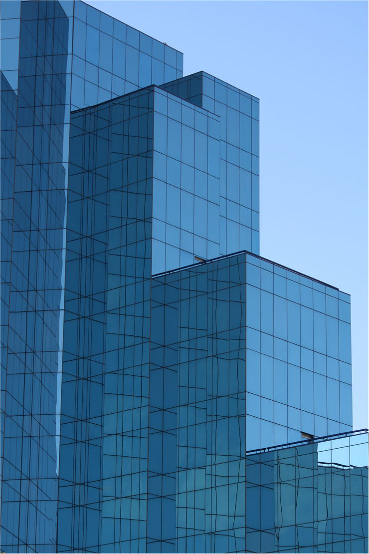 Picture Of Glass Building In Johannesburg South Africa