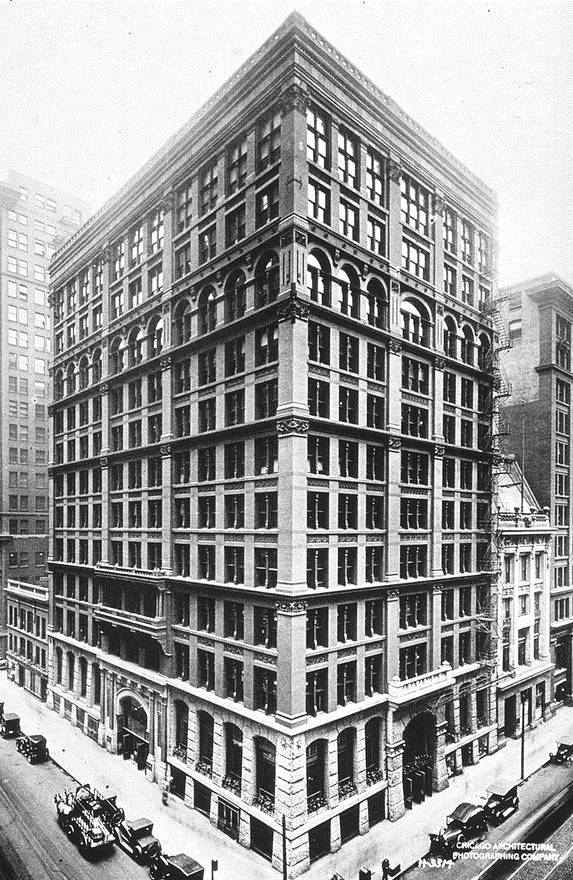Picture Of Home Insurance Building In Chicago
