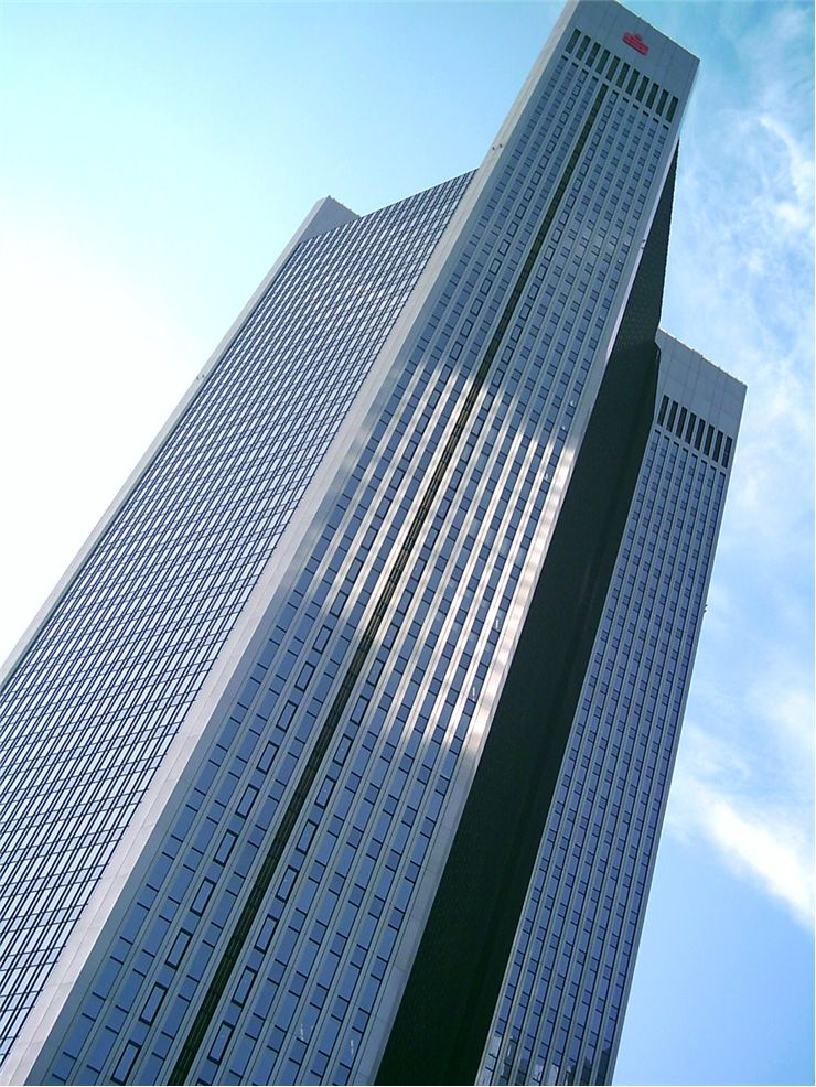 Picture Of Skyscraper In Frankfurt Germany