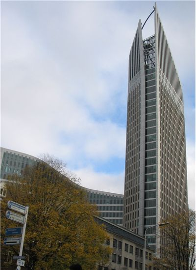 Picture Of Skyscraper In The Hague Netherlands