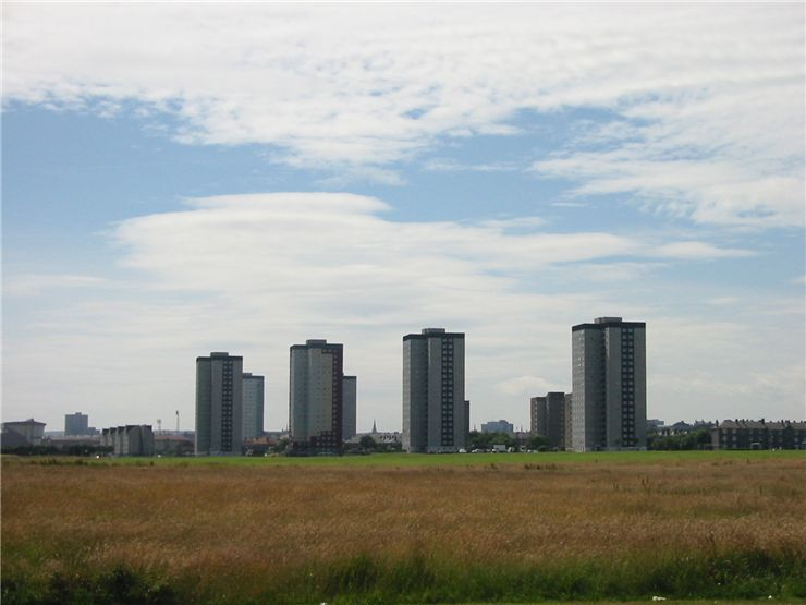Picture Of Skyscrapers In Aberdeen Scotland