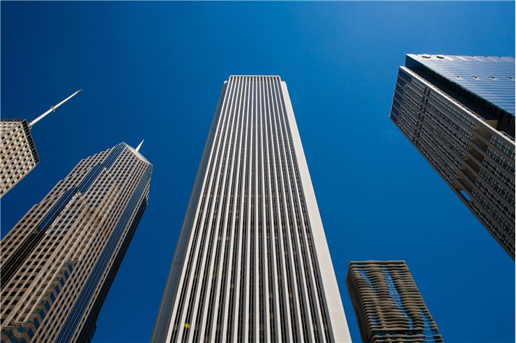 Picture Of Skyscrapers Of Chicago