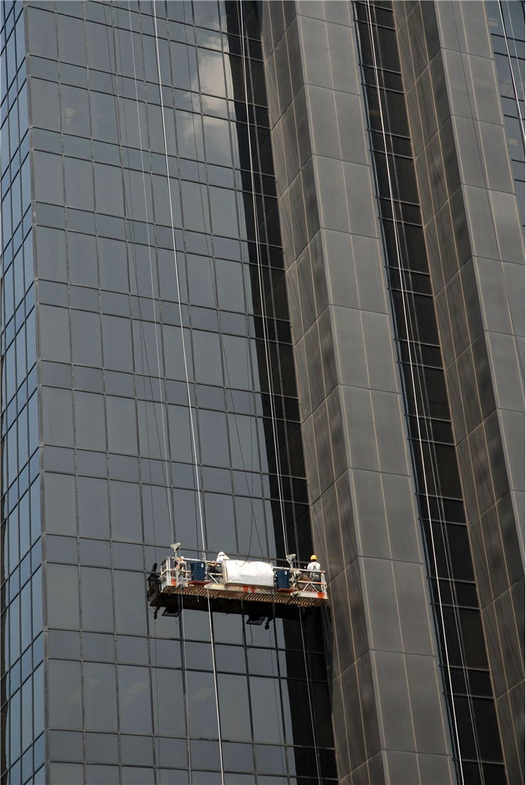 Picture Of Skyscrapers Window Washer