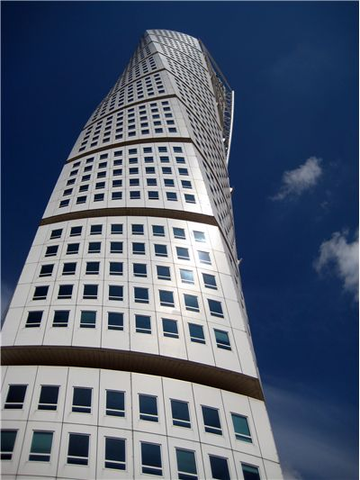 Picture Of Turning Torso In Sweden